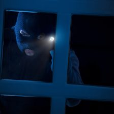 what to do if somebody is knocking on the door at midnight