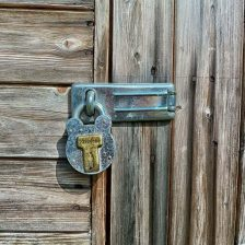 How To Secure Double Shed Doors?